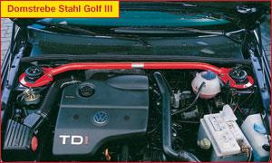 Wiechers 185001 Fahrwerkstrebe Stahl hinten für Hyundai Coupe GK